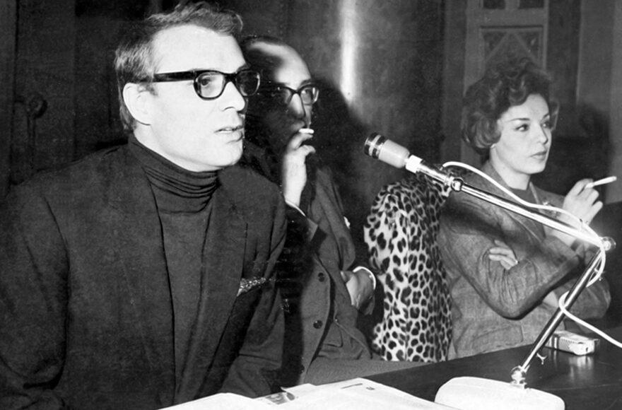 G. Albertazzi, P.E. Poesio, A. Proclemer. 21 aprile 1964