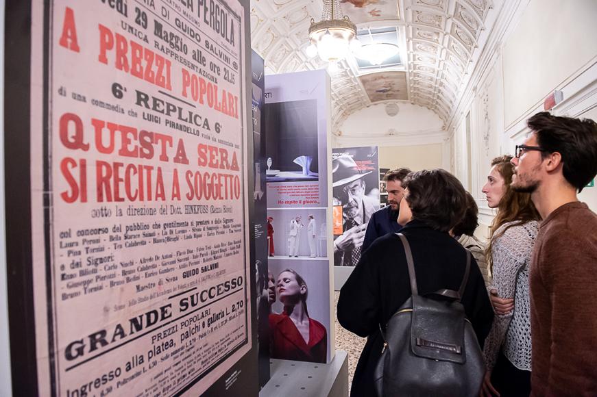 """Mostra """"IL FIGLIO DEL CAOS. Luigi Pirandello al Teatro della Pergola"""", ottobre 2019"""