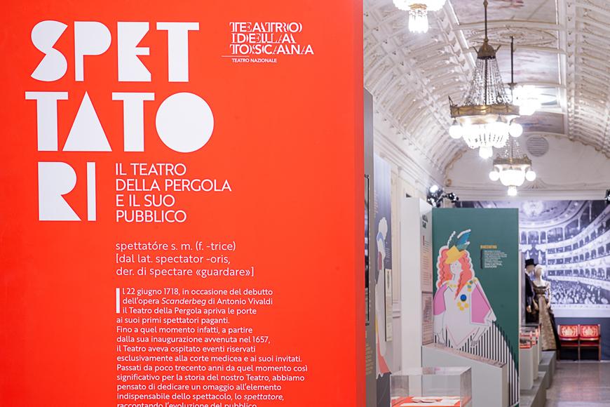 """Mostra """"SPETTATORI. Il Teatro della Pergola e il suo pubblico"""", febbraio 2020"""