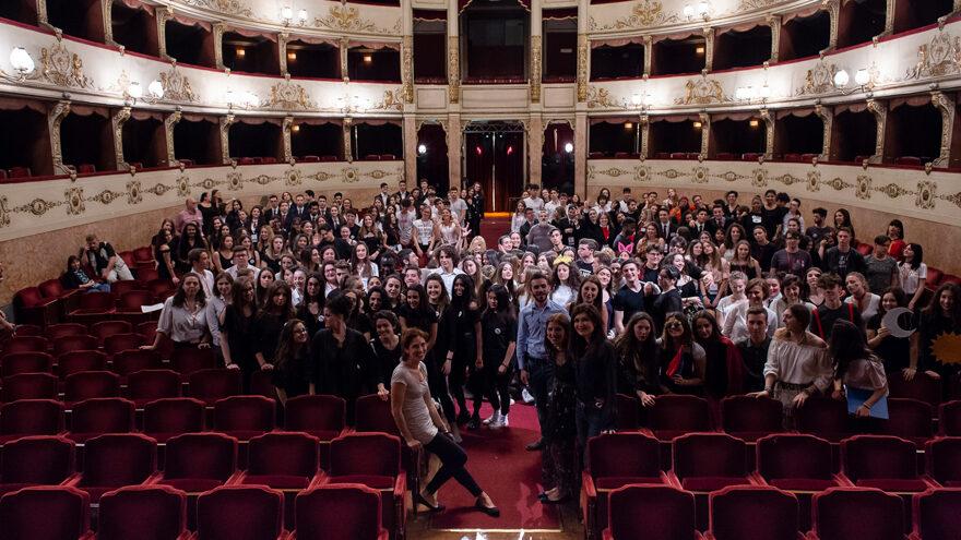Evento finale dei progetti di alternanza scuola-lavoro con gli studenti delle scuole secondarie di Firenze, maggio 2018