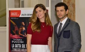 Vittoria Puccini, Vinicio Marchioni: la 'Gatta' sul debutto che scotta